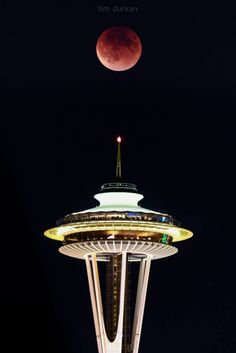 the Super Blood Moon from Tim Durkan Photography. Sept 27, 2015