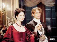 Jamie & Claire at the French court