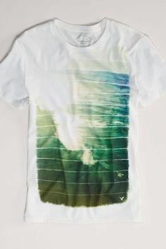 AEO Photo Real T-Shirt, Men's, Size: 3XL, White