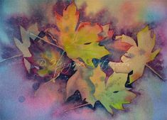 Flowers, Plants & Leaves: D. Haggman Watercolors