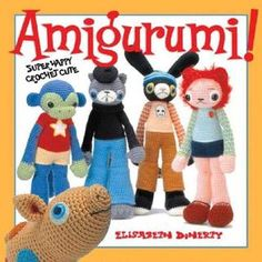 Free Amigurumi book to download. There is a deer in this book I really like