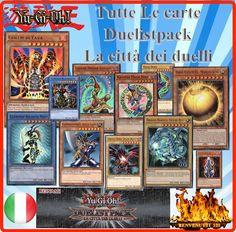 YUGIOH LA CITTA DEI DUELLI , TUTTE LE CARTE ITALIANO NUOVE INSERZIONE MULTIPLA!!