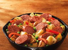 Smoked Sausage and Potato Skillet - Hillshire Farm®