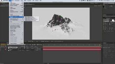 Snow Mountains Heli View - After Effects, Element 3D and Ultimate Landsc...