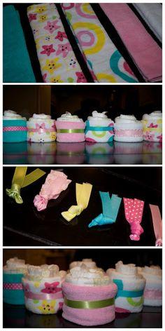diaper cupcake. #babyshower #berrycards