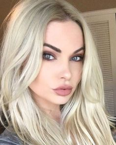 Pin for Later: Blond Hair and Dark Brows Is the Most Gorgeous Goth Look For Summer