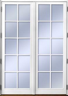 Ekstrands utåtgående parfönsterdörr Sverige104. Tillval: Spröjs SP4:1. #Ekstrands #fönsterdörr #altandörr #fönster #dörr Patio Doors, Diy And Crafts, Master Bedroom, Furniture Design, Windows, Home Decor, Houses, Interiors, Cooking
