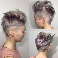 Versuch es doch mal mit einer Frisur mit abrasierten Haaren. An einer oder beiden Seiten! Diese 10 inspirierenden Schnitte sind MEGA und eine Versuchung wert! - Neue Frisur