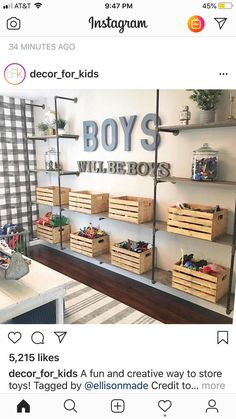 I would change the words that Jesus loves me, I know . - Baby Diy - I would change the words that Jesus loves me, I know … - Kid Spaces, Kids Playing, Family Room, Sweet Home, Boys Playroom Ideas, Kids Rooms, Boys Room Paint Ideas, Nursery Ideas, Boys Shared Bedroom Ideas