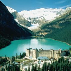 WE ARE GOING HERE ONE DAY!!!The Fairmont Chateau Lake Louise - Photos - Google+