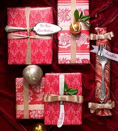 More Than 100 Cool DIY Christmas Gift Wrapping Ideas