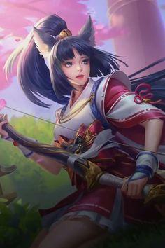 Miya : Suzuhime - Mobile Legends   Mobile Wallpaper (1000x1500)
