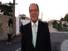 Rua de Campos Velhos, Bicesse, Obras de Requalificação, Carlos Carreiras, Presidente de Câmara, Televisão Cascais Portugal, Televisões Regionais,