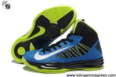 Buy Cheap For Men Nike Lunar Hyperdunk 2013 Black Blue Neon Green Fashion Shoes Shop