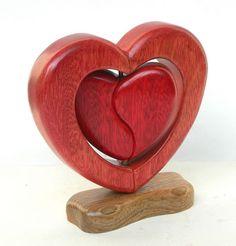 Corazón encerrado  de San Valentín