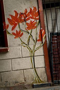 Flowering Street Art