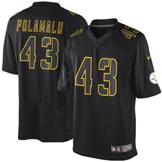 Troy Polamalu Pittsburgh Steelers Premier Jerseys