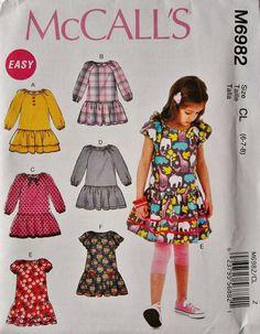 Girls' Dresss Pattern Girls Long Sleeve Dress Pattern by blue510