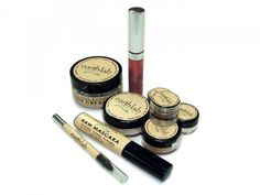 {100% natural mineral makeup set} by earthlab - want.
