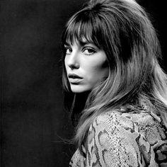 adreciclarte — Jane Birkin by Patrick Lichfield, 1969