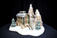Gypsy trailer in gingerbread!