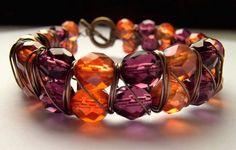 Luxury Wire wrapped Bracelet by Bohemia Jewellery on etsy by Bohemia Jewellery, via Flickr