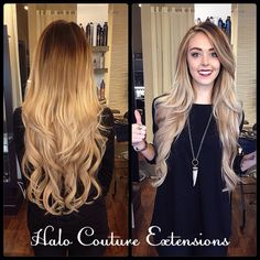 Short To Long Hair In Just A Few Hours Extensions