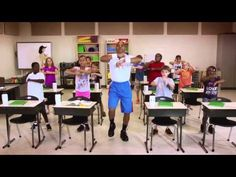 """Let's Move!"" exercise video for your classroom! #exercise #classroom #teacher #classroomfitness"