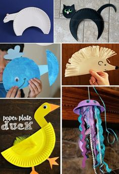 Paper plate animals activities for kids paper plate crafts for kids, pape. Craft Activities For Kids, Preschool Crafts, Projects For Kids, Kids Crafts, Craft Projects, Arts And Crafts, Paper Crafts, Animal Activities, Paper Animal Crafts