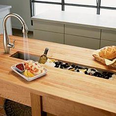 trough sink from kohler