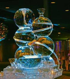 ice sculptures for luge | Bubble Luge Ice Sculpture