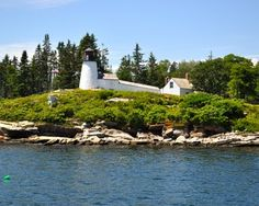 Maine Lighthouses and Beyond: Boothbay and Kennebec Area Lights - Burnt Island Lighthouse