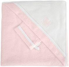 Tablier sortie de bain - ROSE/BLANC - RED CASTLE