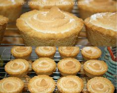 Picture Easy Tart Recipes, Muffin Pan Recipes, Cooking Recipes, Milktart Recipe, Mini Tartlets, Mini Tart Shells, Milk Tart, South African Recipes, Home Baking