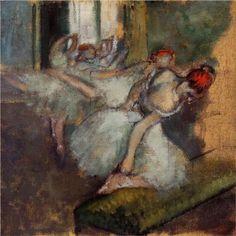 Ballet Dancers - Edgar Degas 1900