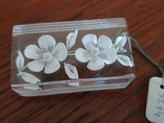 Brooch RC lucite 50's Brooches, Bobby Pins, Berries, Hair Accessories, Plastic, Fruit, Flowers, Beauty, Vintage
