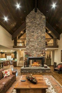 Gorgeous Double Sided Fireplace Design Ideas, Take A Look ! Gorgeous Double Sided Fireplace Design Ideas indoor outdoor For Efficiency And Attractiveness, pictures, remodel and decor. Home Fireplace, Fireplace Design, Fireplace Grate, Fireplace Ideas, Fireplace Remodel, Double Sided Fireplace, Barn House Plans, Barn Plans, Pole Barn Homes