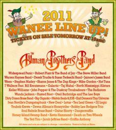 Wanee Festival 2012?