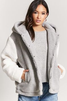 Product Name:Faux Shearling Jacket, Category:outerwear_coats-and-jackets, Price:37.9