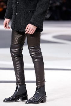 Chanel Fall 2013....mens boots