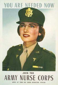 Army Nurse Poster