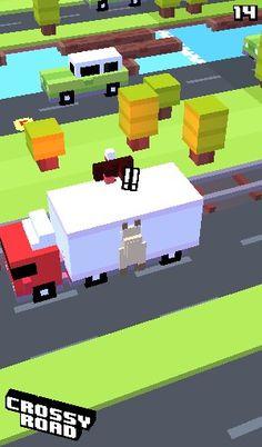 Poor whatever that thing is !!! Crossy road