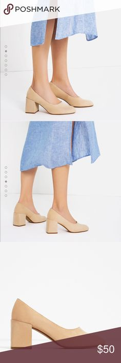 Zara block heels Brand new heels 👠 Zara Shoes