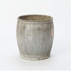 galvanized barrels | ... galvanized barrels get a clean start as spacious planters, vessels for