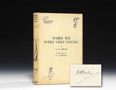 First edition Winnie the Pooh.