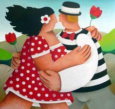 Pinzellades al món: Vivre l'amour!!! Il·lustracions d'Yvonne Zomerdijk