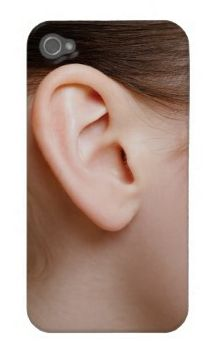 Ear iPhone Case (to disguise your true intentions?)