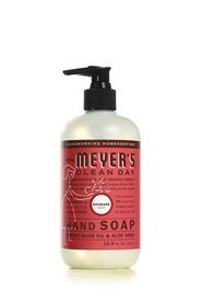 Rhubarb Hand Soap| MrsMeyers - I love them all but was especially obsessed with the orange clove for the holidays. Love!