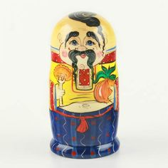 The Russian Store: A Unique Nesting Doll - Manly Matryoshka!