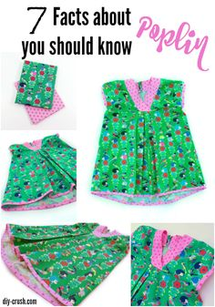 7 Facts about Poplin Fabric you should know and why it's the perfect summer material to sew with. Showcased here on this pretty top   DIY Crush